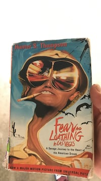 Fear of Loathing in Las Vegas by Hunter S. Thompson book