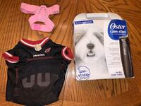 Pets Lot (Grooming Kit, Pink Butterfly Harness & Cardinals Pet Jersey) Albuquerque, 87121