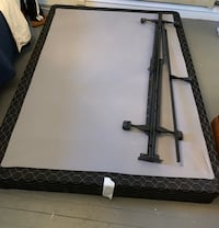 Queen Box Spring and bed frame San Francisco, 94117