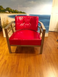 Amisco Red Accent Chair  Brampton, L7A 1J1