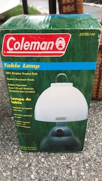 white and green Coleman portable air cooler box Mississauga, L5N 1H8