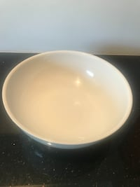Large white serving bowl- perfect for parties Vienna