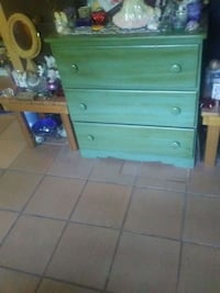 For sale green dresser