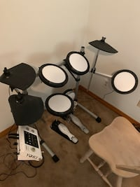 used electric drum set for sale in ormond beach letgo. Black Bedroom Furniture Sets. Home Design Ideas