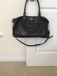 black leather 2-way handbag Fairfax, 22030