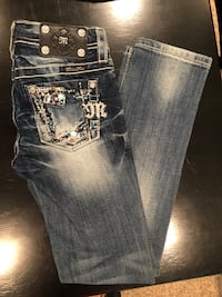 (3) Miss Me jeans youth size 10 Purvis, 39475