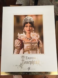 Barbie - Empress Josephine l Women of Royalty with shipper Maple Ridge, V2X 4R7