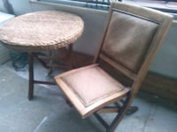 Fantastic wicker rattan patio set table and chair Toronto, M4Y 2L1