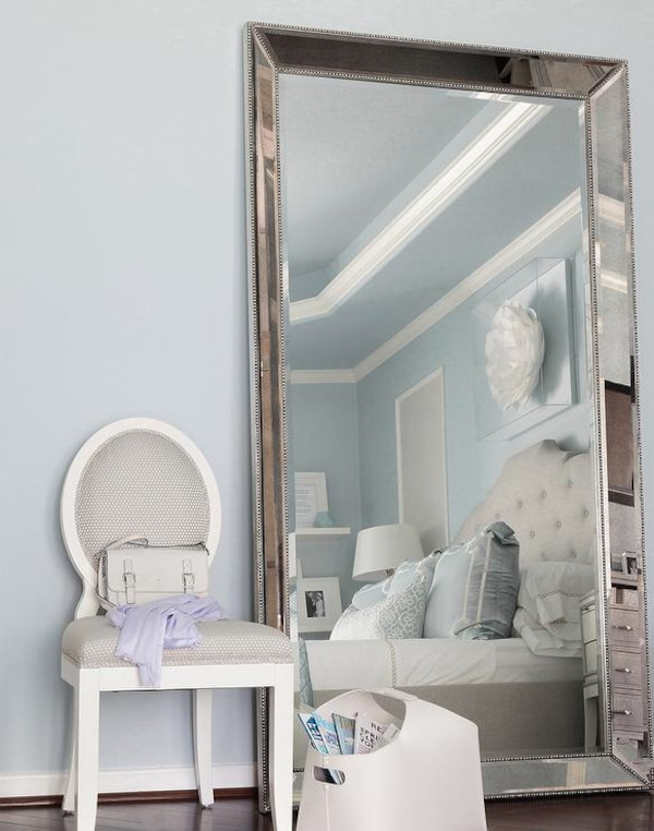 Used Omni Luxury Oversize Floor Mirror As Seen At Zgalllerie For