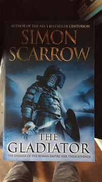 The Gladiator by Simon Scarrow book White Rock, V4B 2A6