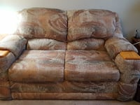 brown 2-seat sofa Kamloops, V2E 1N9