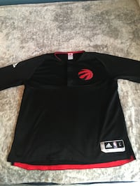 Toronto Raptors Official On Court Warm Up Long Sleeve