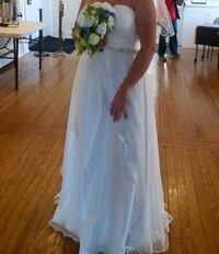 women's white tube wedding dress Fayetteville