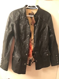Real leather jacket size extra small