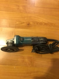 black and gray corded power tool Antelope, 95843