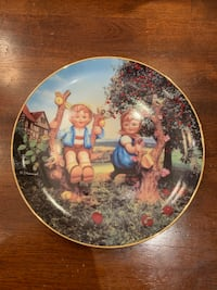 Hummel Collector Plate Apple Tree Boy and girl East Gwillimbury, L0G 1V0