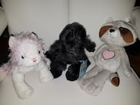 3 new stuffed animals