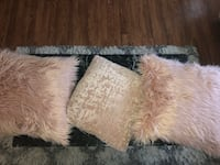 Fur/Velvet pillows 41 mi