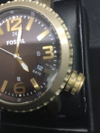 Fossil Watch/brown leather band Bradford, L3Z 0P1
