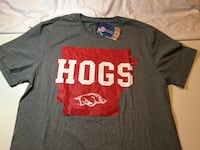 "Arkansas Razorbacks ""HOGS"" Shirt Little Rock"