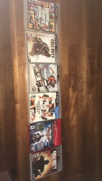 three assorted PS3 game cases El Paso, 79904