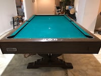 green and brown pool table Newark, 19702