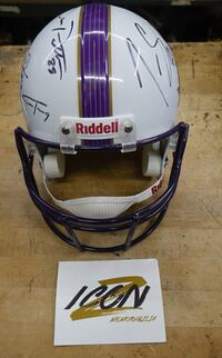 Riddel Helmet signed by 8 Ravens Players NEW ORLEANS Super Bowl XLVII  Baltimore, 21205