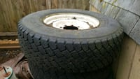 One  [PHONE NUMBER HIDDEN]  ply all position tire on Ford Pic Eugene, 97405