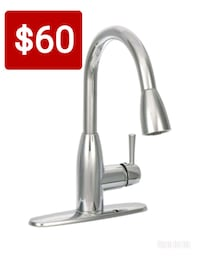 stainless steel faucet with box Downey, 90241