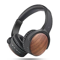 Wood Active Noise Cancelling Wireless Headphones