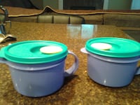 Tupperware Soup Mugs 2 availble for $5 each Burnaby