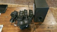Logitech x-530 5.1 surround speaker system  Gaithersburg, 20877