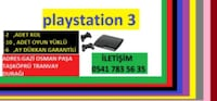 PLAYSTATION 3 Barbaros Hayrettinpaşa Mahallesi, 34250