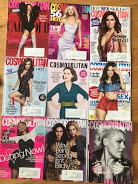 Cosmopolitan fashion/makeup/life magazine New York, 10018