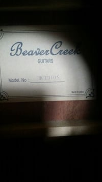 Beaver creek guitar