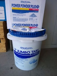 Pool shock tabs and powder plus Lincoln, 95648