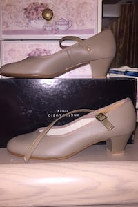 BRAND NEW Angelo Luzio beige dance shoes  Mississauga, L4W 2E6