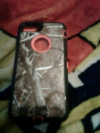 brown and black realistic camouflage iPhone case Memramcook, E4K 2V5