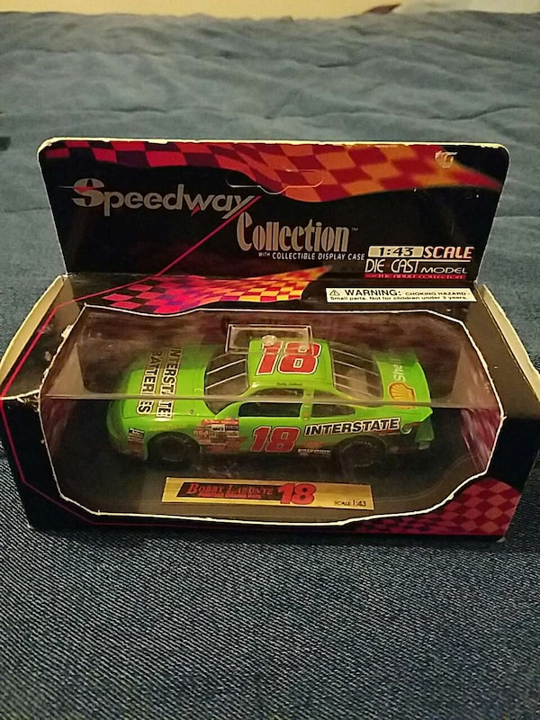 1:43 scale Bobby Labonte car