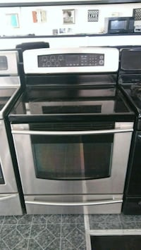 black and gray induction range oven Cleveland, 44115