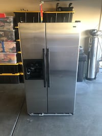 Nice Kenmore Stainless Steel Refrigerator. Has filtered water and ice in the door Works Perfectly!!! Las Vegas, 89131