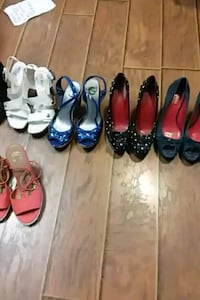 women's assorted pairs of shoes Reno, 89521