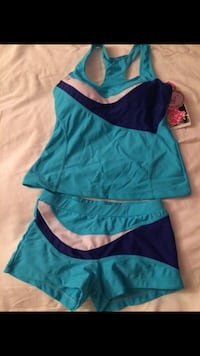 Brand new - 2 pcs swim suite size medium Arlington, 22205