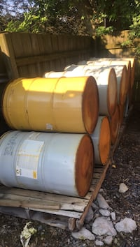 55gal drum good for burn barrels. 22.75 in round An 33.5 inches tall East Cocalico, 17522