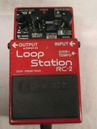 BOSS RC~2 LOOPPER..  WORKS GREAT  Willowbrook, 60527