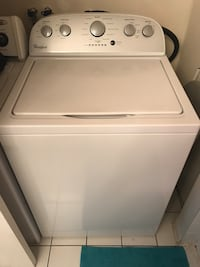 white top-load clothes washer Laval, H7H 1N6