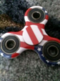 America white, red, blue fidget spinner Charleston, 29407
