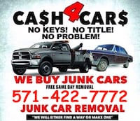 Junk car removal  Woodbridge, 22191