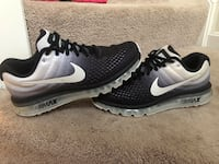 pair of black-and-white Nike running shoes Mount Airy, 21771