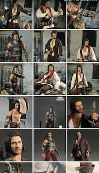 Prince of persia 1/6 HotToys 30cm figür  Istanbul
